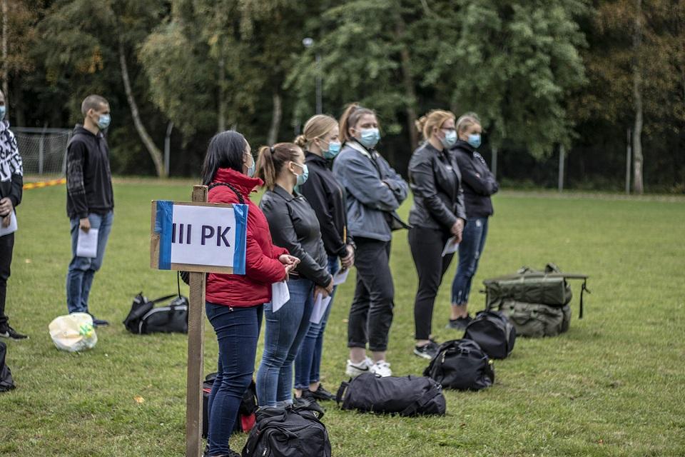Butigeidžio dragūnų batalione – ir 22 merginos