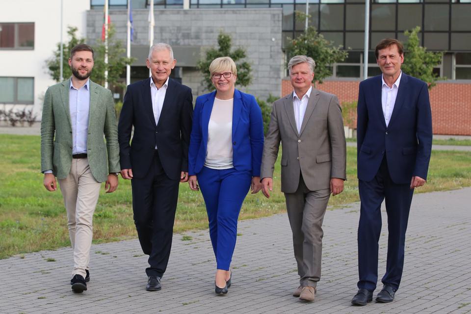Konservatoriai Klaipėdoje pristatė partijos programą bei kandidatus Seimo rinkimuose