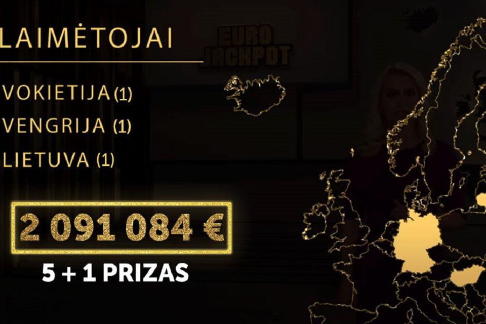 Klaipėdiečiui sėkmę loterijoje atnešė paties pasirinkti skaičiai