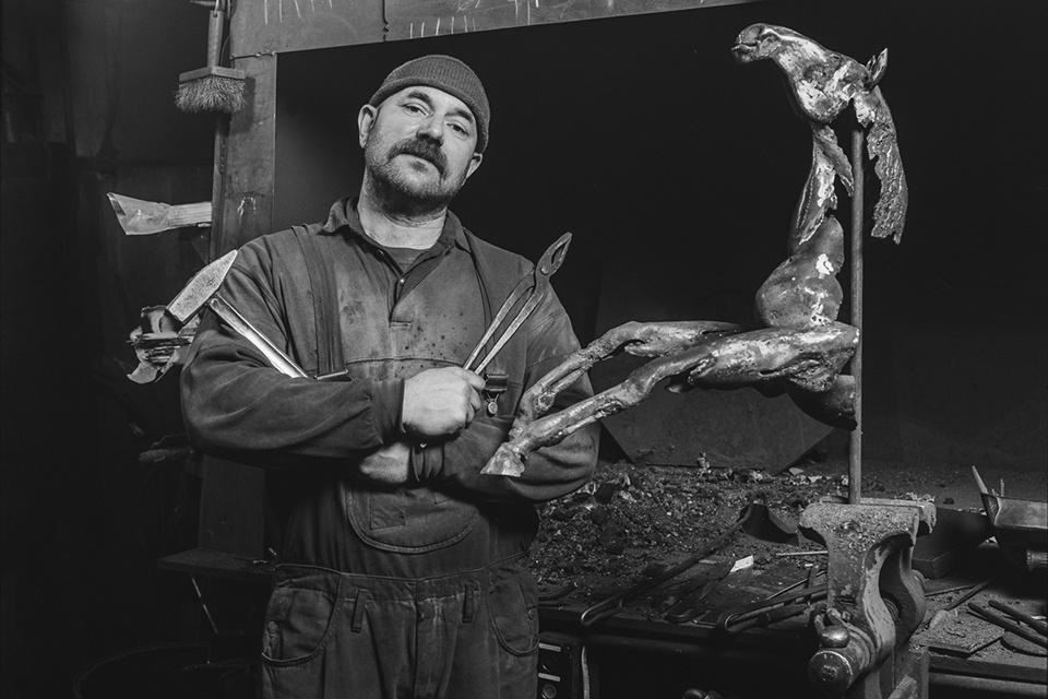 Klaipėdoje – paroda, skirta skulptoriaus Edmundo Frėjaus kūrybai atminti
