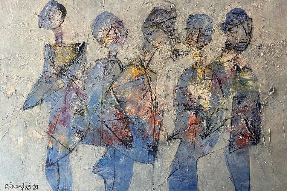 Klaipėdos galerijoje – Ernesto Žvaigždino retrospektyvinė paroda