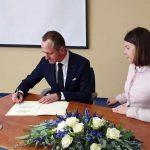 Klaipėdoje atidarytas Estijos garbės konsulatas