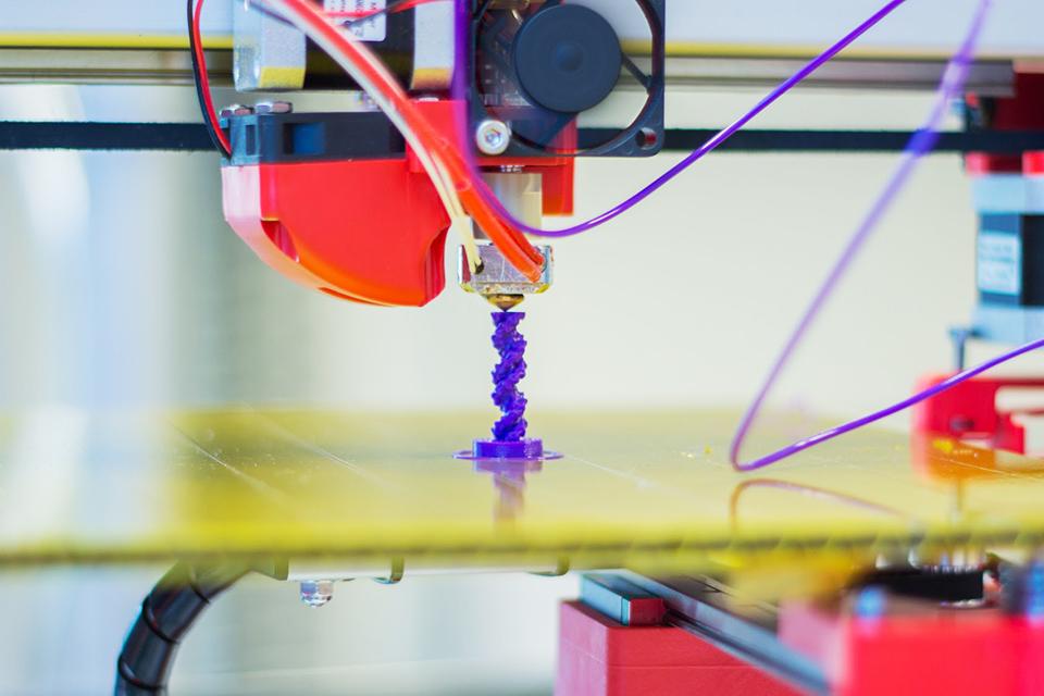 Siūlo naujovę 3D spausdinimo sektoriui