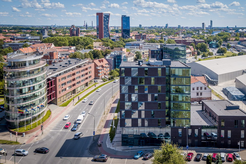 Interaktyvus Klaipėdos NT žemėlapis: biurai, darbo vietos, sklypai