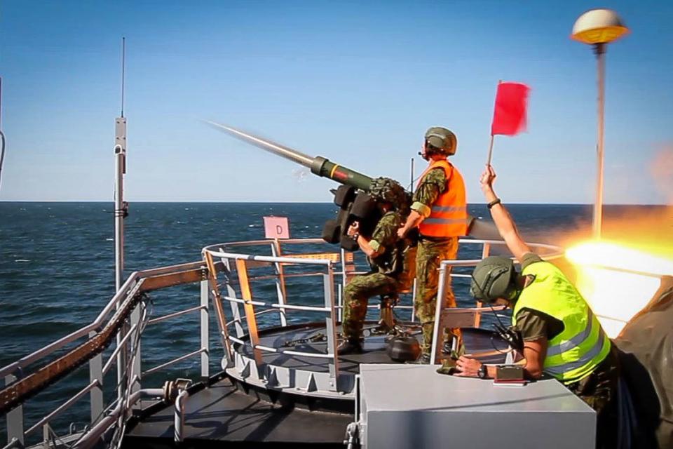 Kariai naikins oro taikinius virš Baltijos jūros