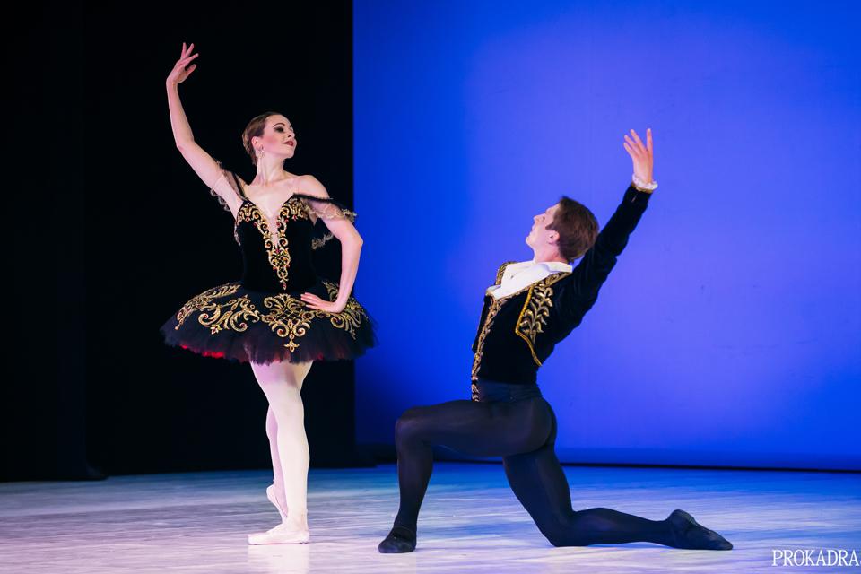 Pirmąkart Lietuvoje pristatyta Ukrainos nacionalinio teatro baleto trupės programa