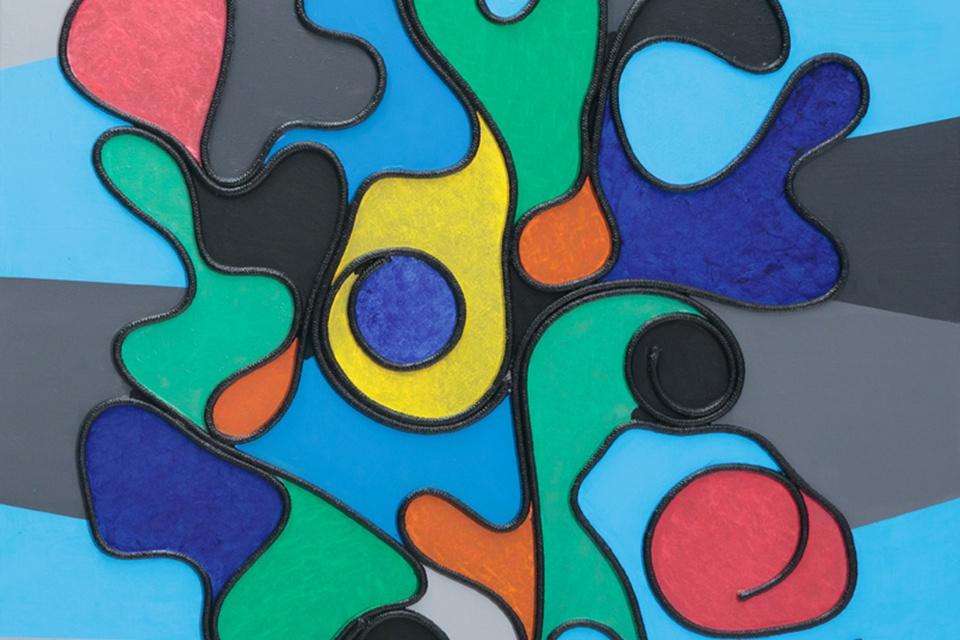 Optinio ir abstraktaus meno gerbėjams – paroda Prano Domšaičio galerijoje