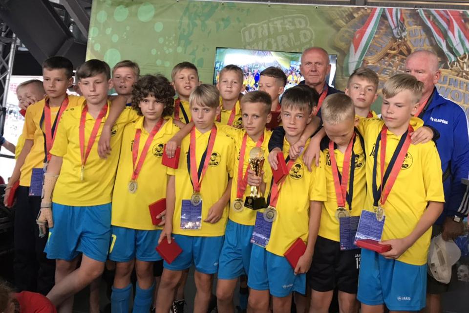 Klaipėdiečiai futbolininkai – pasaulinių žaidynių čempionai!