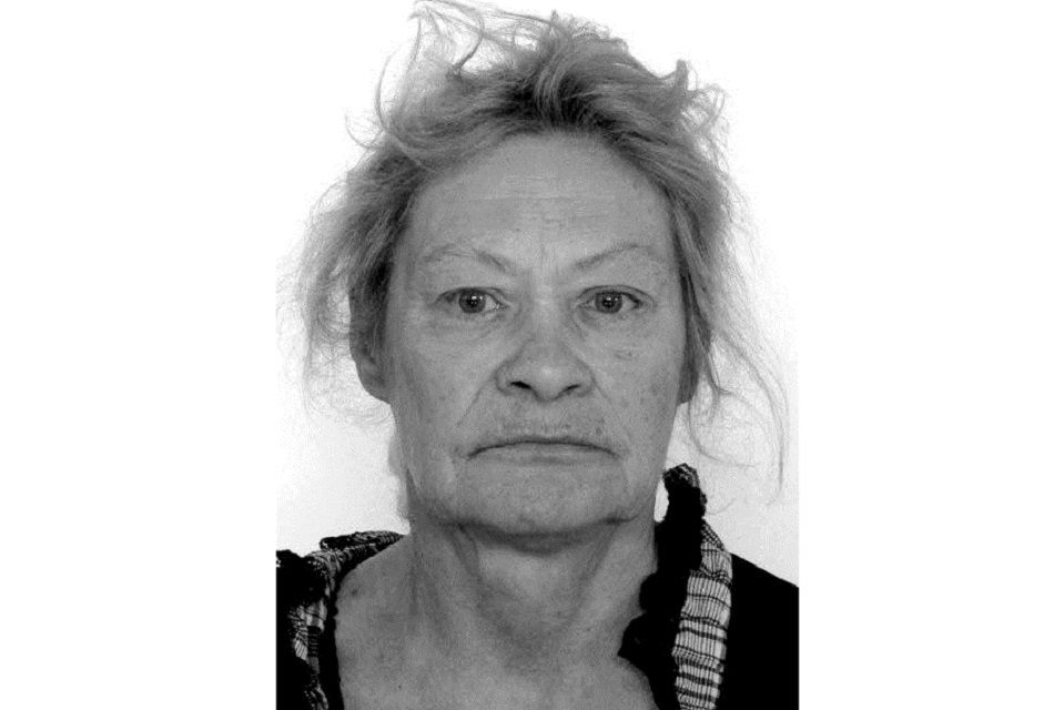 Ieškoma dingusi be žinios Liudmila Kutereva