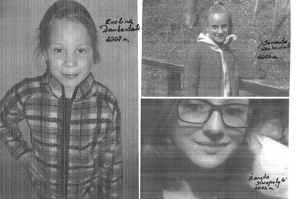 Plungės rajone dingo trys mergaitės