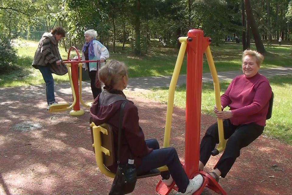 Klaipėdos senjorai aktyviai sportuos