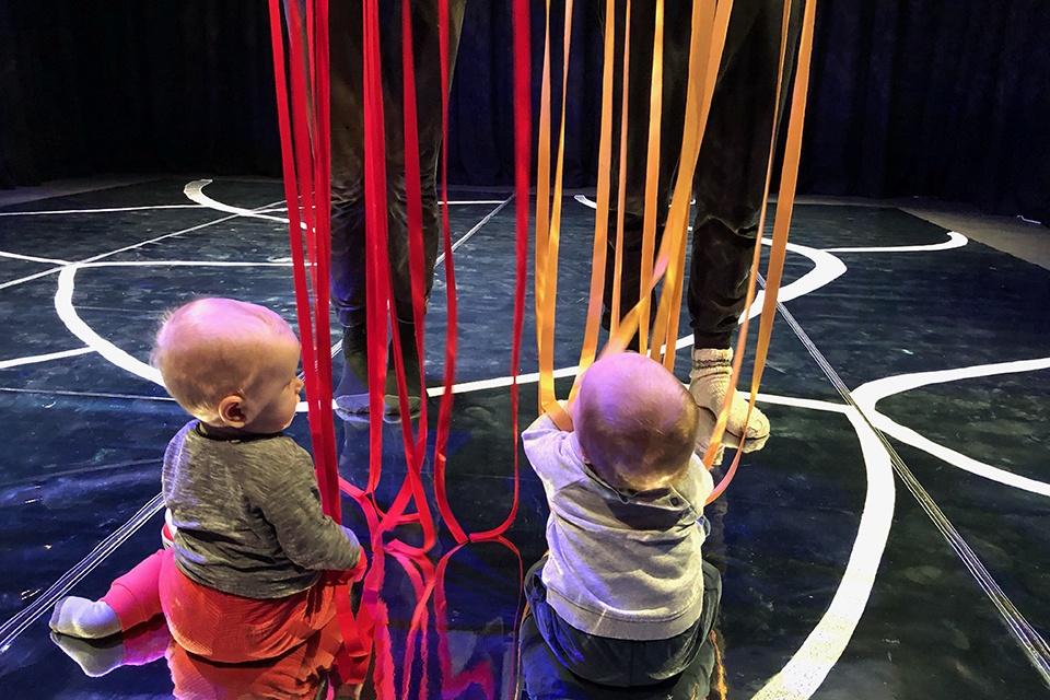 Klaipėdos lėlių teatre – spektaklio kūdikiams premjera