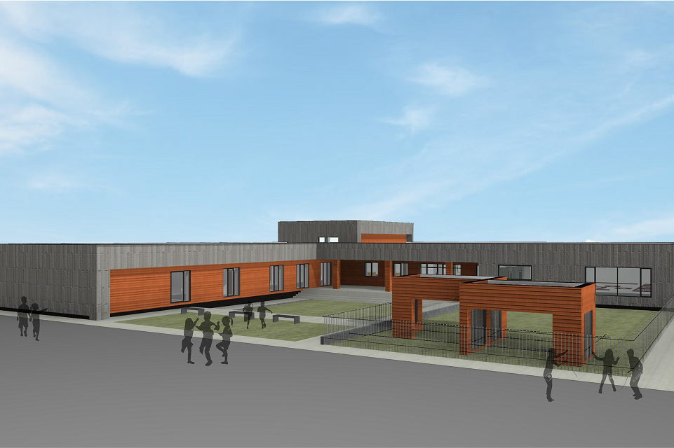 Jakuose atsiras nauja moderni mokykla
