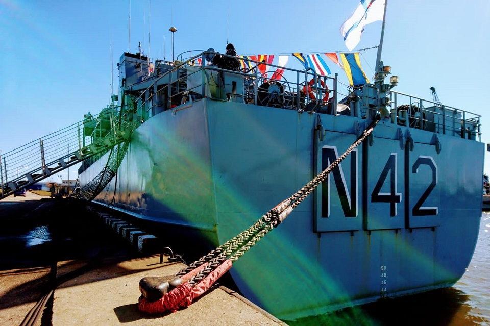 """,,Jotvingis"""" pasirengęs vadovauti NATO priešmininių laivų grupei"""