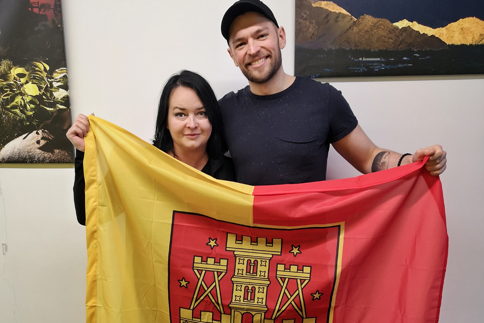 Jurijui Veklenko – Klaipėdos vėliava
