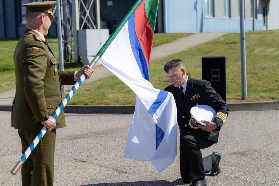 Naujasis Lietuvos KJP vadas – jūrų kapitonas Giedrius Premeneckas