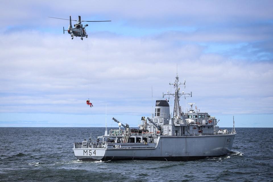 Žada stiprinti karinius jūros stebėjimo pajėgumus