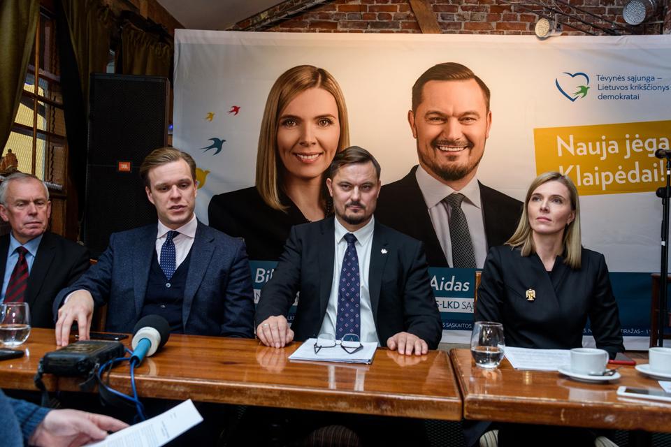 Nauja jėga Klaipėdai: A. Bilotaitė ir A. Kaveckis pasiryžo Klaipėdą paversti geriausia vieta gyventi