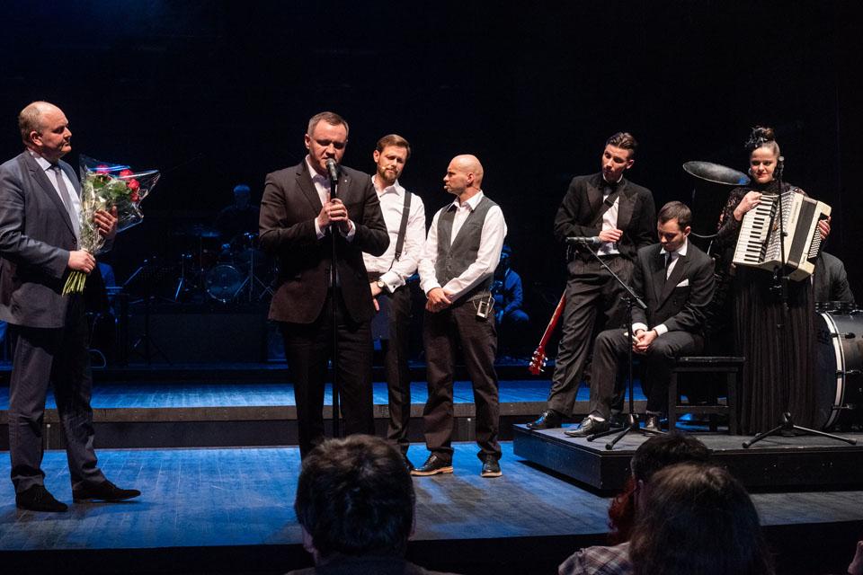 Teatro dienos proga – padėkos aktoriams