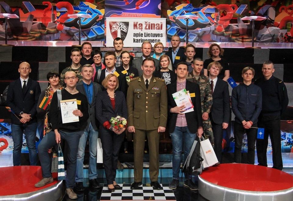 """Konkursas moksleiviams """"Ką žinai apie Lietuvos kariuomenę"""""""
