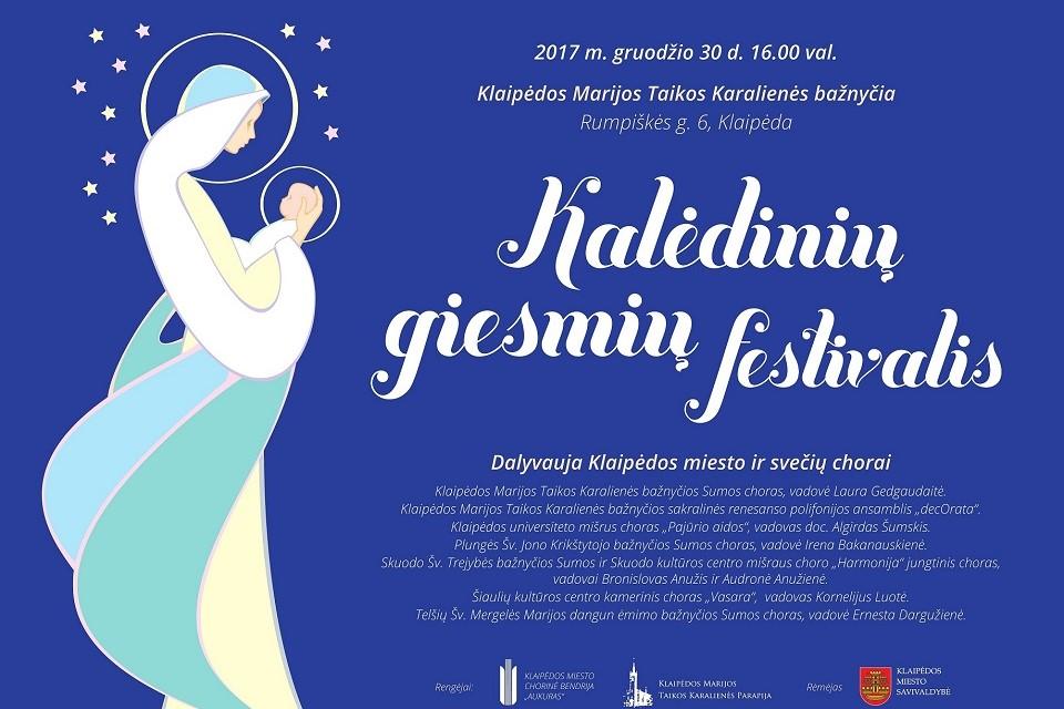 Vyks kalėdinių giesmių festivalis