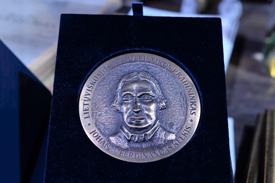 Prašo siūlyti kandidatus J. F. Kelkio medaliui gauti