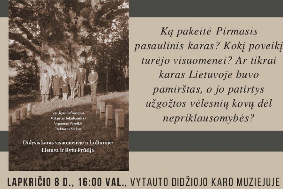 Klaipėdiečiai istorikai knygą pristatys Kaune