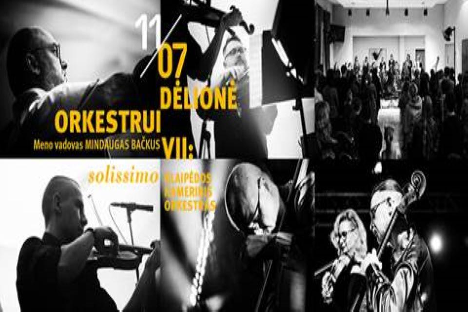 Klaipėdos kamerinis orkestras su obojininku A. Puskunigiu išleis kompaktinę plokštelę ir koncertuos