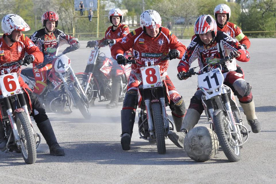 Šeštadienį Kretingoje – motobolo varžybos