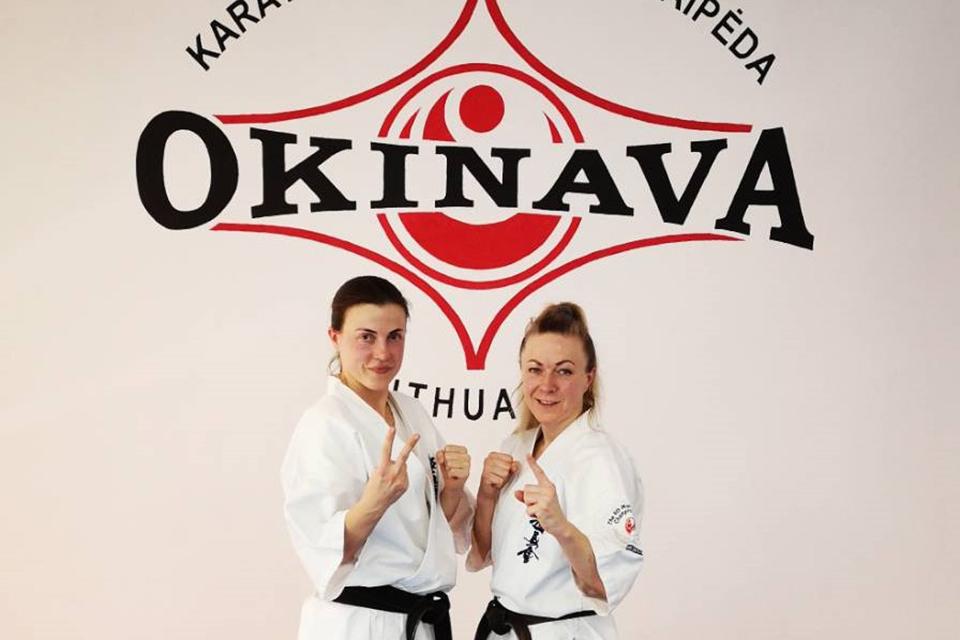 """""""Okinava"""" triumfavo Pasauliniame online kata čempionate"""