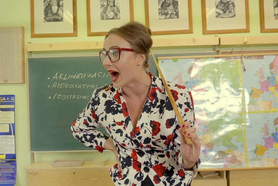 """""""Apeirono"""" teatro aktorė mokėsi kitokioje mokykloje, nei dirba jos herojė"""