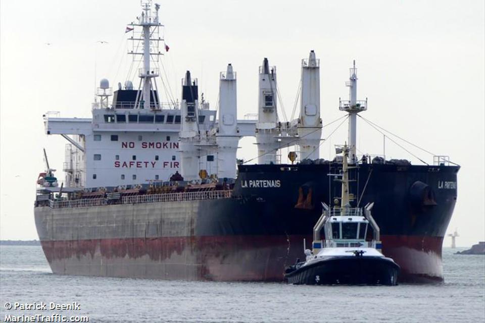 Į Klaipėdą atplaukusiame laive – nelegalūs migrantai