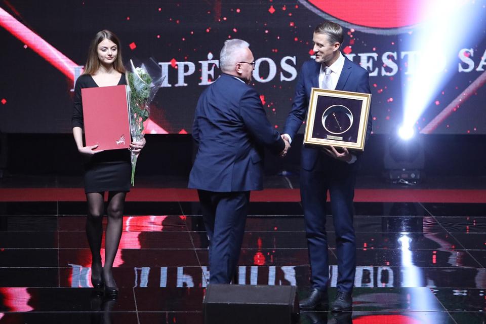 Klaipėdos savivaldybei – apdovanojimas