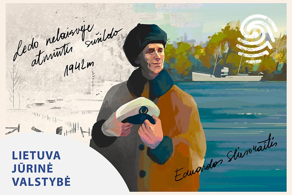 """Eduardas Sliesoraitis – kapitonas, savo noru """"išplaukęs"""" į Sibirą"""