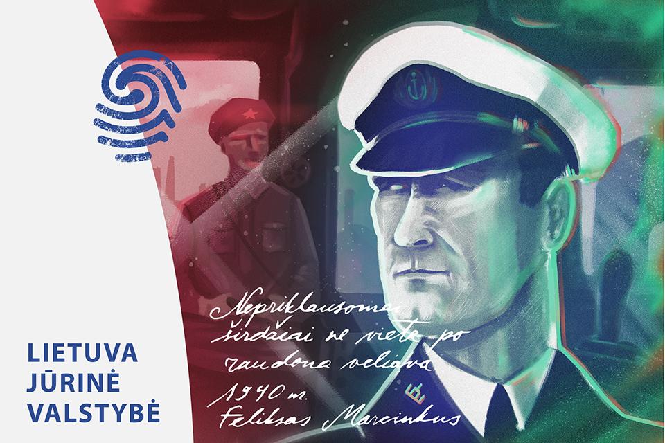 Kapitonas Feliksas Marcinkus: nepriklausomai širdžiai – ne vieta po raudona vėliava