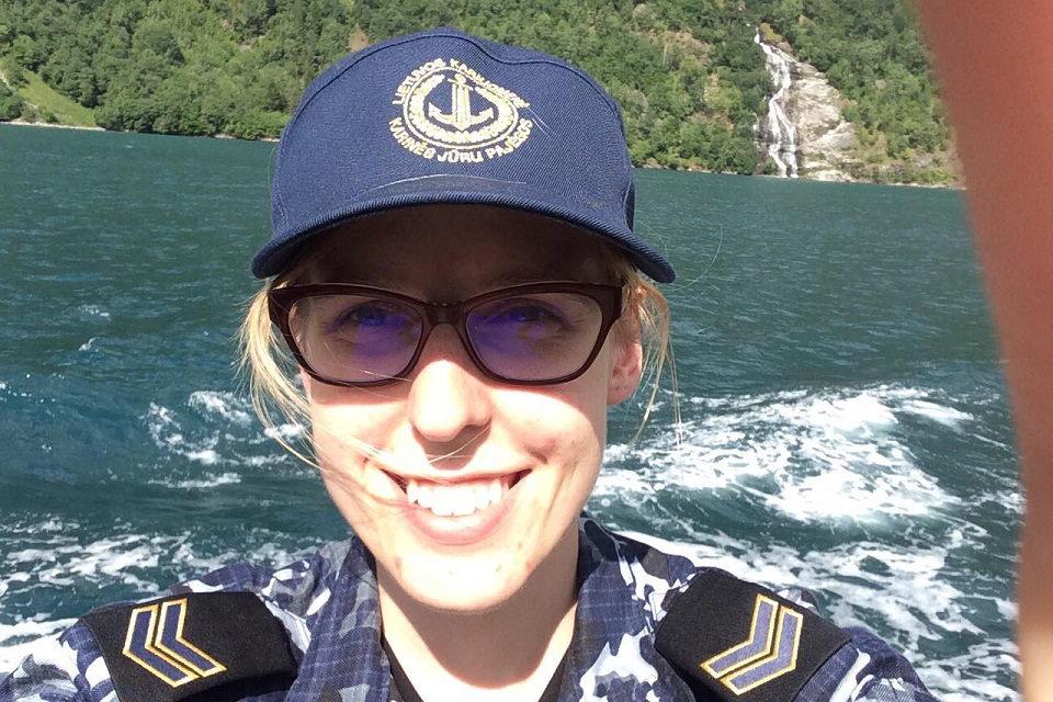 """Jūrų karė paramedikė: ,,Kol nepabuvai – nesuprasi"""""""