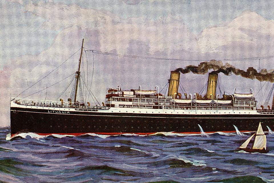 """""""Lituania"""" – emigrantų laivas"""