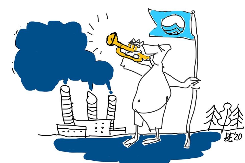 Klaipėdos paplūdimiams – Mėlynoji vėliava