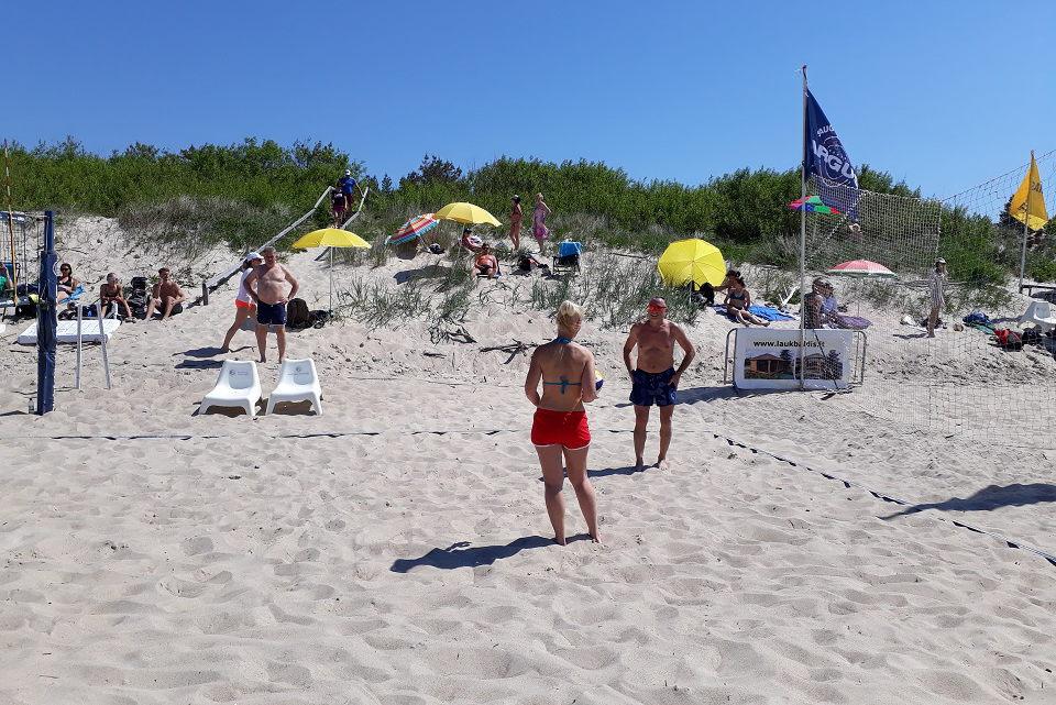 Pareigūnai primena paplūdimiuose saugotis ilgapirščių