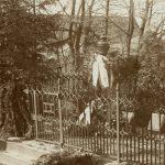 Skulptūrų parke - paroda apie senąsias miesto kapines