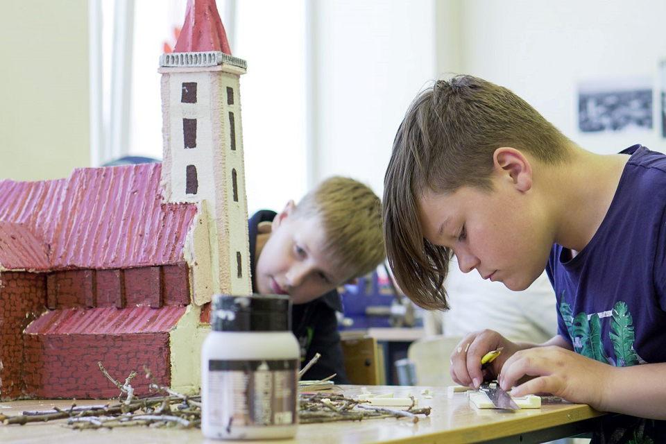 Miniatiūrinę Kretingą sukūrė patys miestiečiai