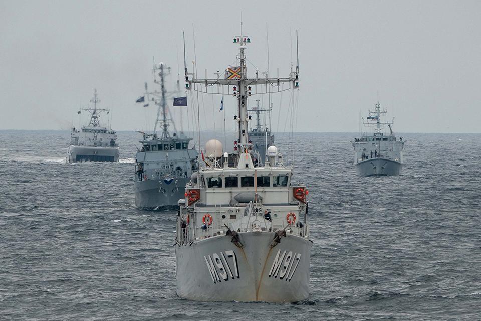 Po pratybų NATO laivų grupė prisišvartuos Klaipėdoje