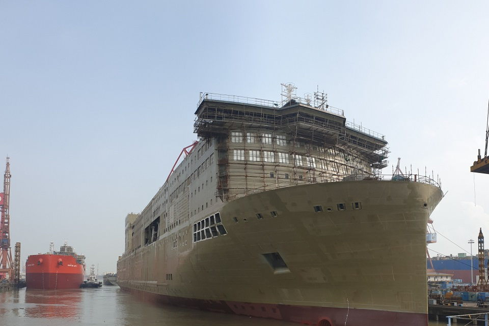 Baltijos jūros keleivinį laivyną papildys naujas keltas