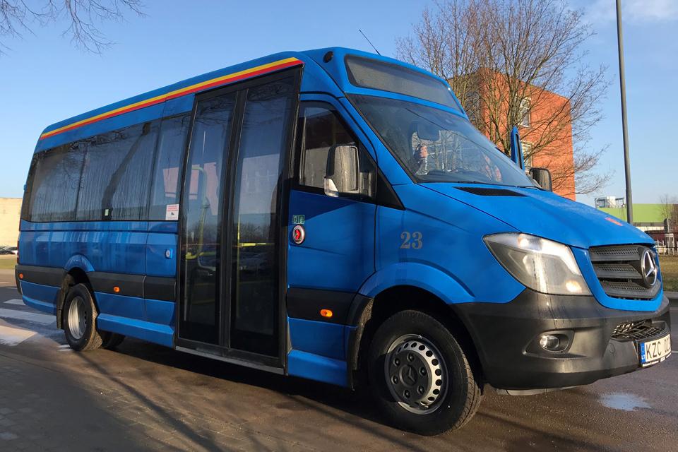 Į Klaipėdos priemiesčius – nauji autobusai