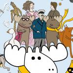 Kuršių nerijos istorija - įgarsintuose komiksuose