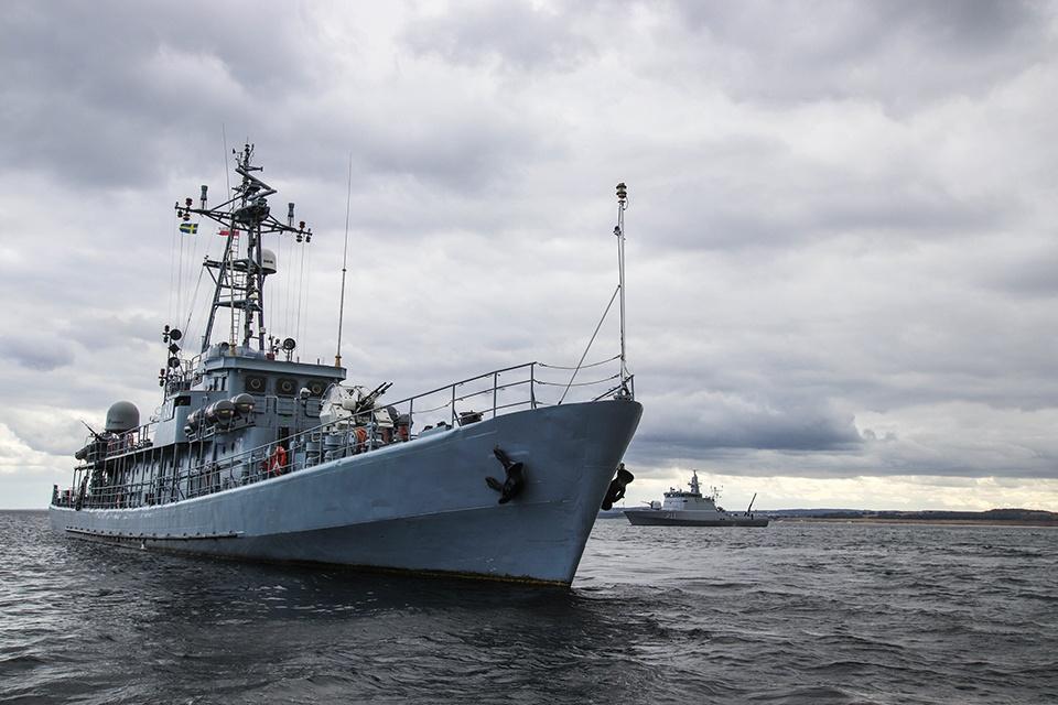 Baltijos jūroje įvyko didžiausio ES finansuojamo gynybos tyrimų projekto bandymai