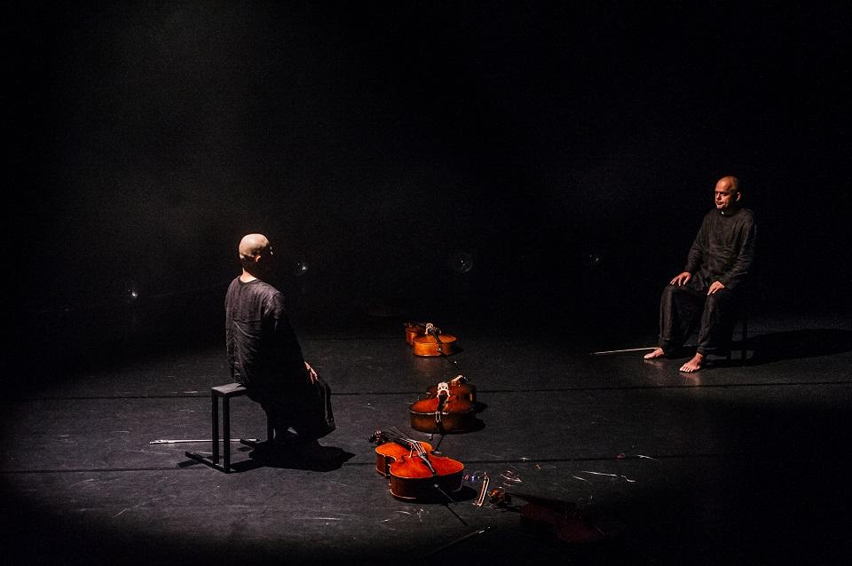 Šokio ir violončelės dermė atvėrė naują meno nišą