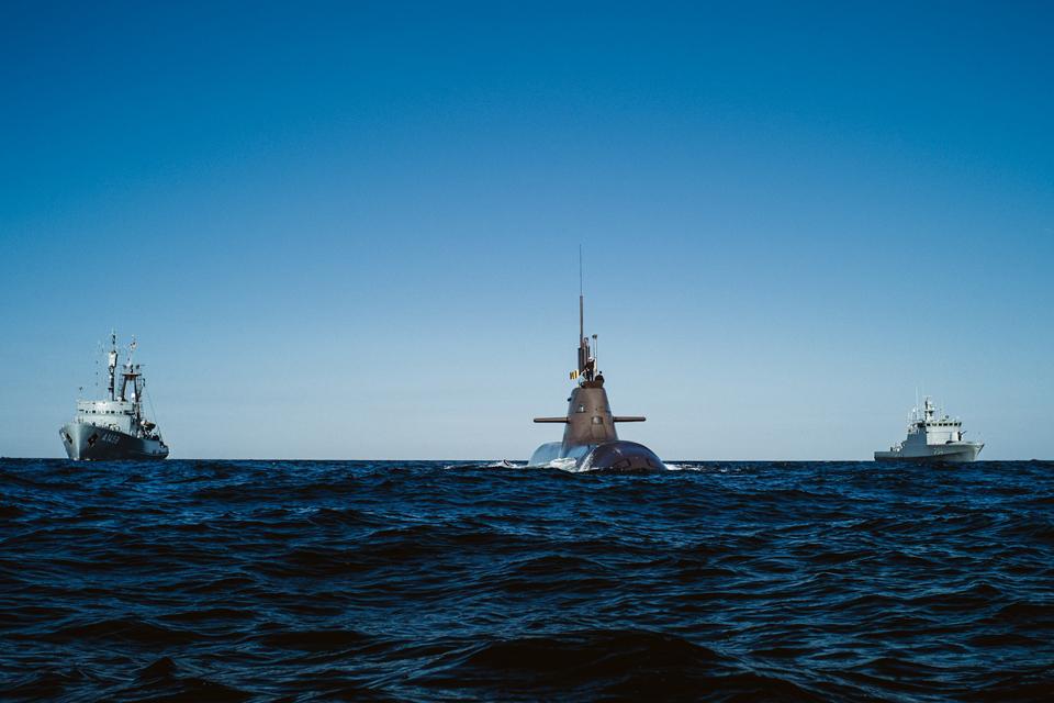 Atplauks Vokietijos povandeninis laivas