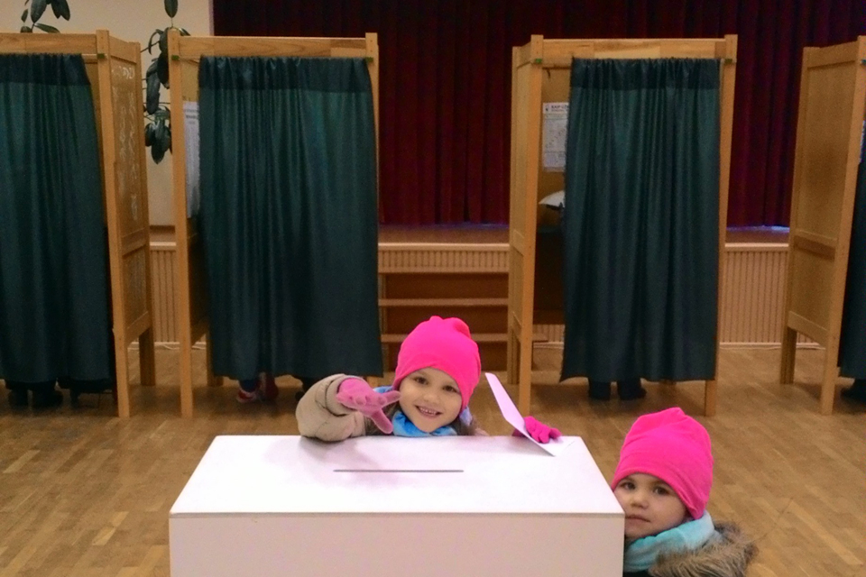 Per rinkimus – atviros balsavimo kabinos