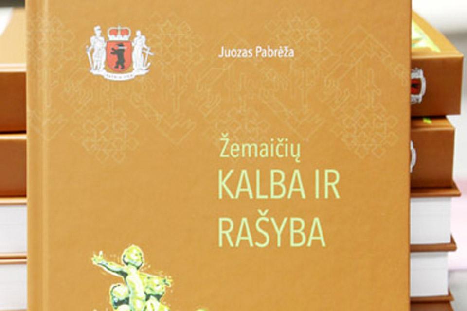 Pristatys knygą apie žemaičių kalbą ir rašybą